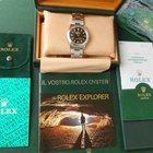 Rolex Explorer 1 New Old Stock - Full Set