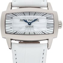 Patek Philippe White Gold Lady's Gondolo 4980G