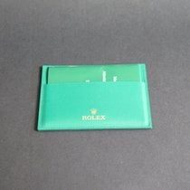 Rolex Creditcard holder + Warranty Booklet