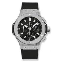 Hublot Big Bang Steel Diamonds Rubber Men`s Watch