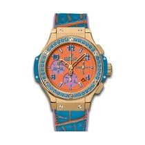 Hublot Big Bang Pop Art 41mm Automatic 18K Yellow Gold Mens...