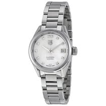 TAG Heuer Ladies WAR2414.BA0776 Carrera Lady Calibre 9 Steel...