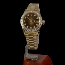 Rolex Oyster Perpetual  Datejust Yellow Gold and Diamonds Lady