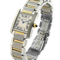 Cartier W51007Q4 Tank Francaise Small Size in 2 - Tone - Steel...