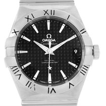 Omega Constellation Co-axial 300m Steel Watch 123.10.38.21.01.002