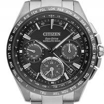 Citizen Eco Drive Satelite Titan Quarz Armband Titan 44mm...
