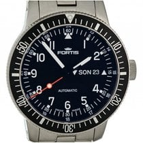 Fortis B-42 Official Cosmonauts Day Date Stahl Automatik...
