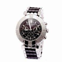 Harry Winston Ocean Chronograph Platinum Rubber Bracelet...