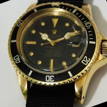 "Rolex Submariner Date ""Tiffany & Co."" 18kt YG..."