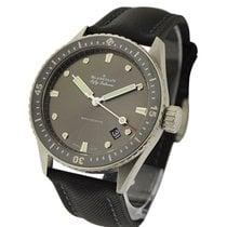 Blancpain 5000-1110-B52A Fifty Fathoms Bathyscaphe in Steel -...