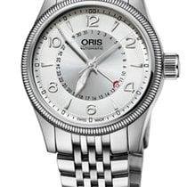 Oris Big Crown Pointer Date, Silver Dial, Steel Bracelet