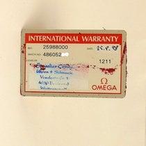 Omega Seamaster Chrono Certificate Zertifikat Warranty