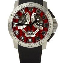 Pierre Kunz Sport 403 Steel Red Texalium Dial