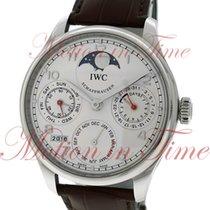 IWC Portuguese Perpetual Calendar, Silver Dial , Limited...