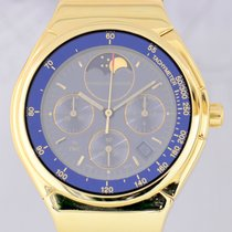Porsche Design Chronograph Moonphase 18K Gold Klassiker blue...