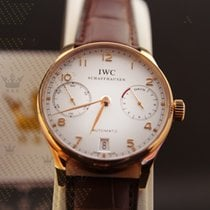 IWC  IW500113   Portugieser Automatic  White dial Pink Gold