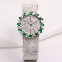 Piaget Diamond & Emerald 9172A6 18K White Gold
