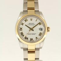 Rolex Lady-Datejust 31mm from 2010 complete with box and papers