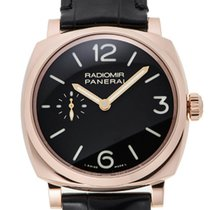 Panerai Radiomir 1940 3Days Oro Rosso 42mm Red Gold Men Watch...