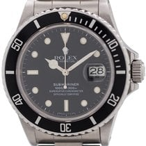 Rolex Submariner ref 16800 Transitional Model circa 1985