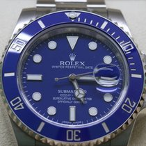 Rolex 116619LB Submariner Date blue. White gold