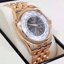 Patek Philippe 5130/1r 18k Rose Gold World Time Automatic...
