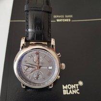 Montblanc GMT Chrono White Gold 42mm 101637
