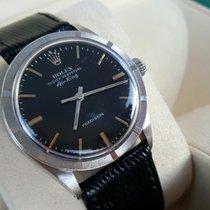 Rolex nice 1969 Air King 1007 Automatik cal. 1520 nice black dial