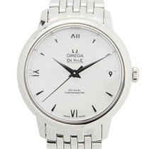 Omega De Ville Stainless Steel White Automatic 424.10.33.20.05...