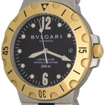 Bulgari Diagono Professional Scuba Model SD 38 SG