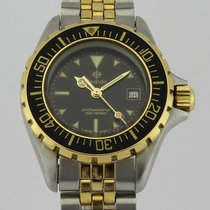 Zodiac Professional 200 meters 18k Gold and Steel 108.22.06...