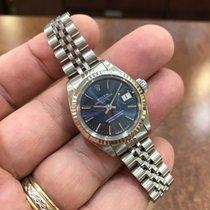 Ρολεξ (Rolex) Date Ladies 18KW Bezel/Stainless Steel Watch 26mm