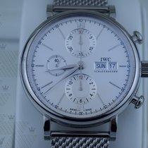 IWC IW391009  Portofino Automatic Chronograph Silver Dial