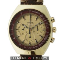 Omega Speedmaster Mark II Gold Plated Stainless Steel Champagn...