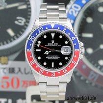 Ρολεξ (Rolex) GMT Master II Stahl Ref:16710 - Rolex Box &...