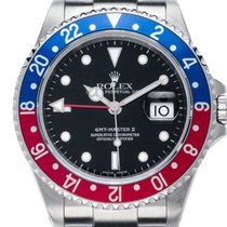 Rolex GMT Master II red, blue, Pepsi - vintage - 2002