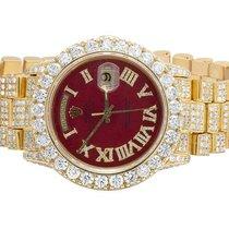 Rolex 18K Mens Yellow Gold Rolex President 36MM 18038 Day-Date...