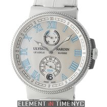 Ulysse Nardin Marine Collection Chronometer Manufacture Ladies...