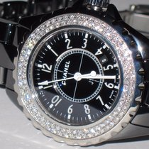 Chanel J12 Black Ceramic Diamonds
