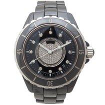 Chanel montre chanel j12 h1757 39 mm ceramique noire &...