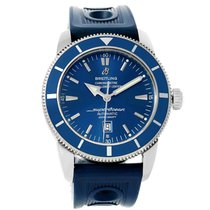 Breitling Superocean Heritage 46 Blue Dial Mens Watch A17320...