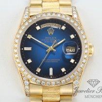 Rolex Day Date Gelbgold 750 Diamanten Automatik DayDate