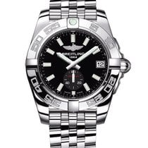 Breitling Galactic 36 Black Dial Automatic SS Unisex Watch...