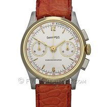 Eberhard & Co. Contograf Chronograph Stahl/Gold Handaufzug...