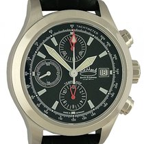 Askania Tempelhof Stahl Automatik Chronograph Limitiert 42mm...