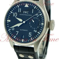 IWC Big Pilot's 7-Day Power Reserve, Black Dial - Stainles...