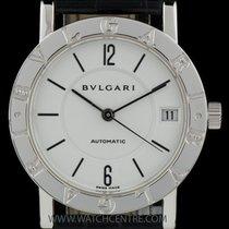 Bulgari Bvlgari 18k W/G White Dial Auto Mid Size B&P BB W...