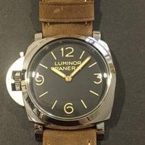Panerai Luminor 1950 Left-Handed 3 Days Acciaio PAM 557