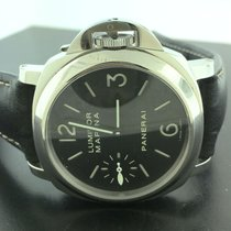 Panerai Luminor Marina 44mm Hand Winding PAM 111 steel