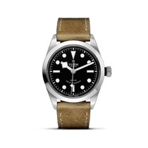 Tudor HERITAGE BLACK BAY Dial 36mm Aged Leather Automatic 79500